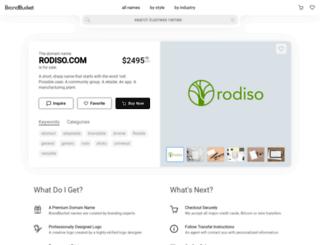 rodiso.com screenshot