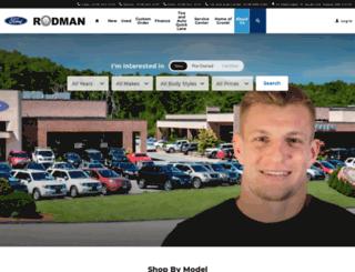 rodmanford.com screenshot