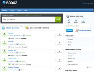 rodoz.com screenshot