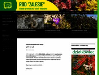 rodzalesie.rzeszow.pl screenshot