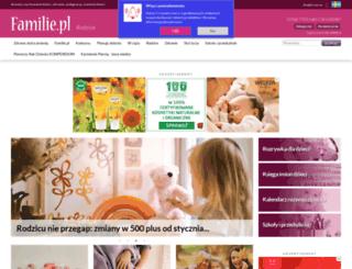 rodzice.familie.pl screenshot