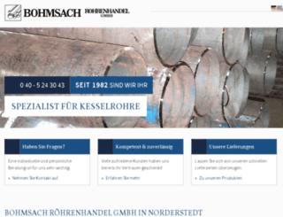 roehrenhandel-bohmsach.de screenshot