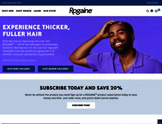 rogaine.com screenshot