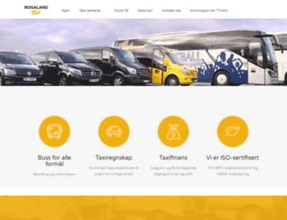 rogaland-taxi.no screenshot