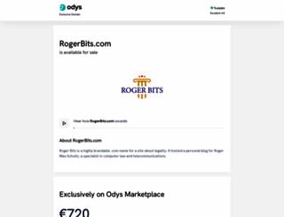 rogerbits.com screenshot