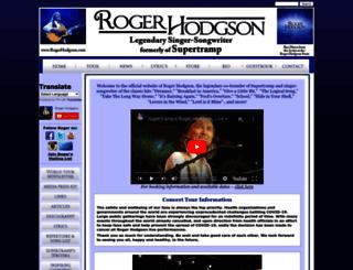 rogerhodgson.com screenshot