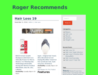 rogerrecommends.com screenshot