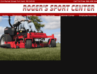 rogerssportcenter.com screenshot