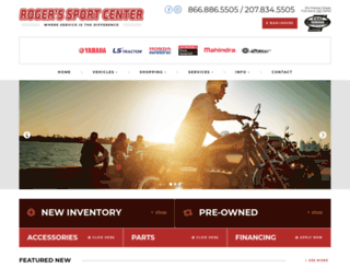 rogerssportcentermaine.com screenshot