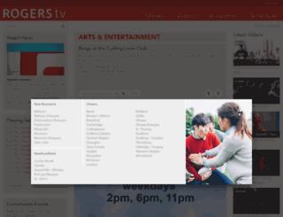 rogerstv.com screenshot
