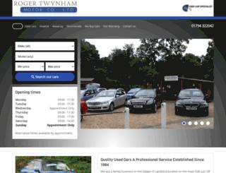 rogertwynhammotorcompany.co.uk screenshot