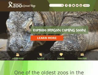 rogerwilliamsparkzoo.org screenshot