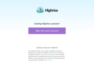 rogriffin.highrisehq.com screenshot