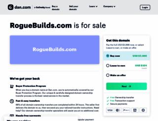 roguebuilds.com screenshot