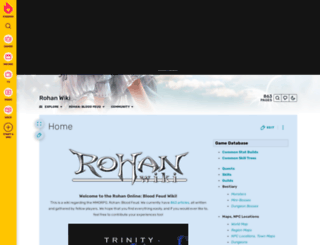 rohan.wikia.com screenshot