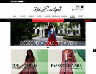 rohboutique.ro screenshot