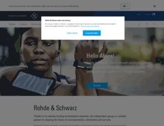 rohde-schwarz.nl screenshot