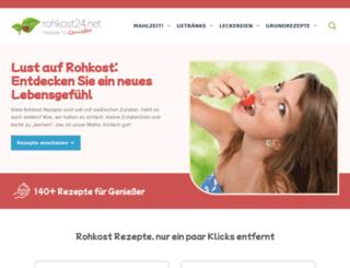 rohkost24.net screenshot