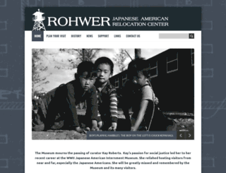rohwer.astate.edu screenshot