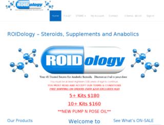 roidology.ca screenshot