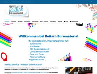 roitsch-buerobedarf.de screenshot