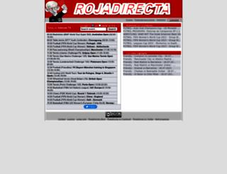 rojadirecta.com screenshot