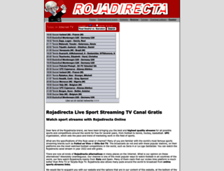 rojadirecta.tv screenshot