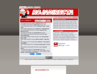 rojadirectagratis.com screenshot