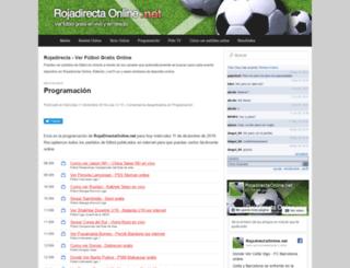 rojadirectaonline.net screenshot