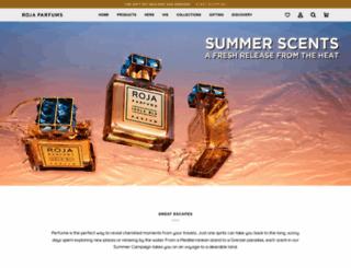 rojaparfums.com screenshot