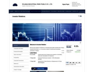 rojna.listedcompany.com screenshot