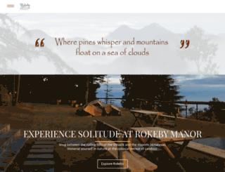 rokebymanor.com screenshot