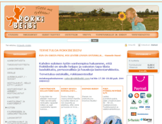 rokkibeibi.com screenshot
