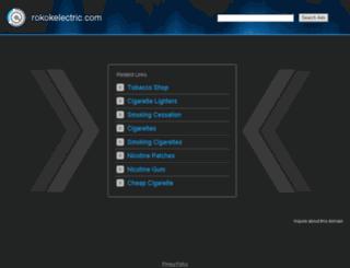 rokokelectric.com screenshot
