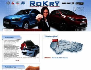 rokry.cz screenshot