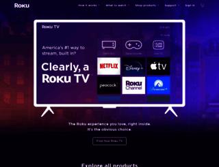 roku.com screenshot