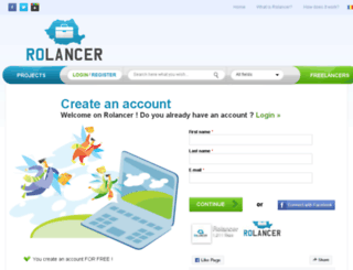rolancer.com screenshot