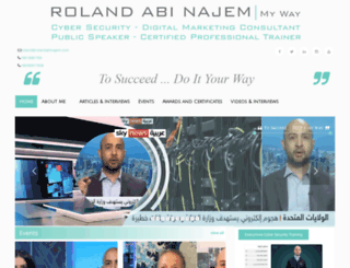 rolandabinajem.com screenshot