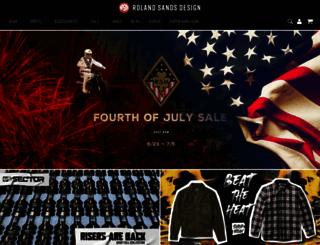 rolandsandsdesign.com screenshot