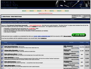 rolexforums.com screenshot