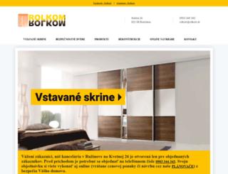 rolkom.sk screenshot