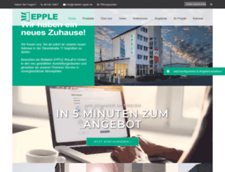 rolladen-epple.de screenshot