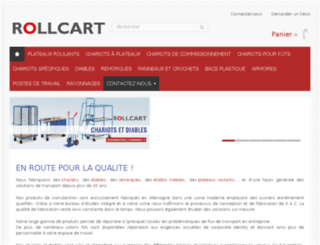 rollcart.fr screenshot
