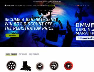 rollerblade.com screenshot