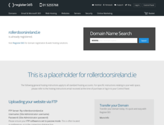 rollerdoorsireland.ie screenshot