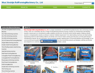 rollformingmachinexsj.com screenshot