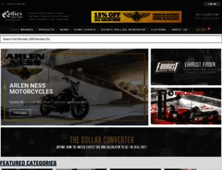rolliesspeedshop.com screenshot
