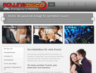 rollingdisco.de screenshot