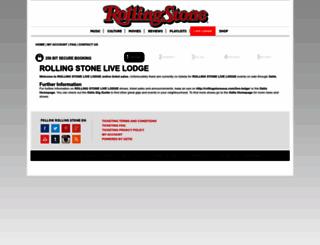 rollingstonelivelodge.oztix.com.au screenshot