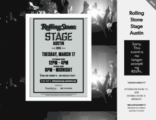 rollingstonestage.splashthat.com screenshot